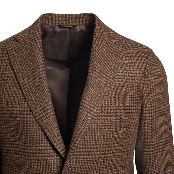 Brown checked blazer                                                                                                                                   GAIOLA