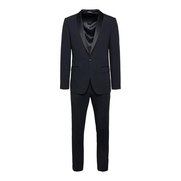 Black suit with shawl lapels                                                                                                                          Dolce&gabbana GK1FMT front