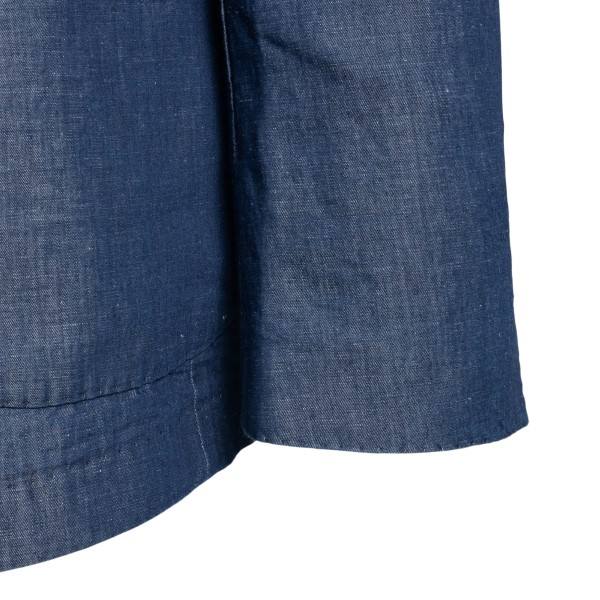 Blue denim-style blazer                                                                                                                                SANTANIELLO