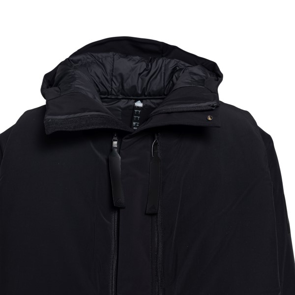 Long black down jacket with removable vest                                                                                                             ADIDAS ENERGY PACK