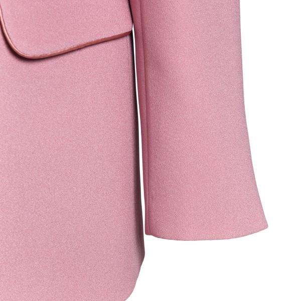 Pink jacket with handkerchief                                                                                                                          HEBE STUDIO