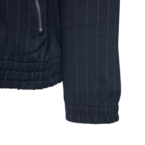 Blue pinstripe sweatshirt                                                                                                                              DRIES VAN NOTEN
