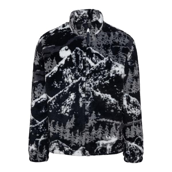 Giacca bianca e nera effetto pelliccia                                                                                                                Carhartt I029467 retro