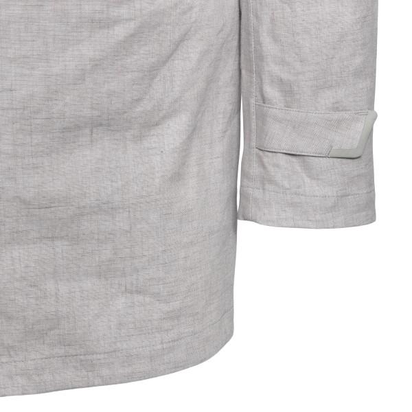 Light grey jacket with collar                                                                                                                          HERNO