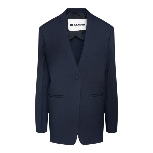 Single-breasted elegant jacket                                                                                                                         JIL SANDER