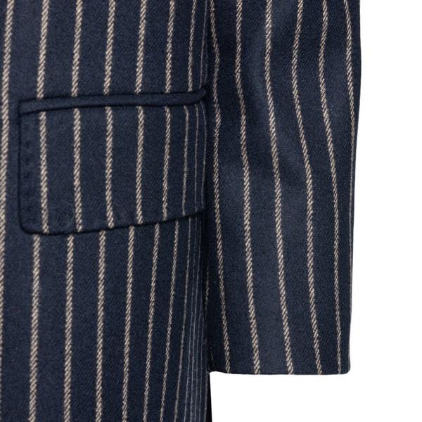 Blue striped blazer                                                                                                                                    MAX MARA