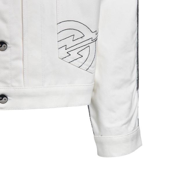 Giacca bianca con stampa sul retro                                                                                                                     FORMYSTUDIO                                        FORMYSTUDIO