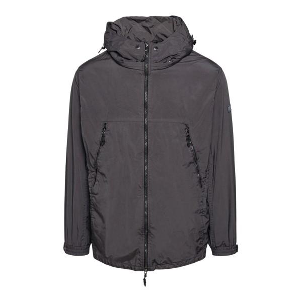Grey waterproof jacket with zip pockets                                                                                                               Tatras MTAT21S4755 back