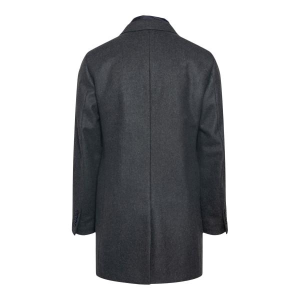 Cappotto grigio scuro monopetto                                                                                                                        FAY                                                FAY