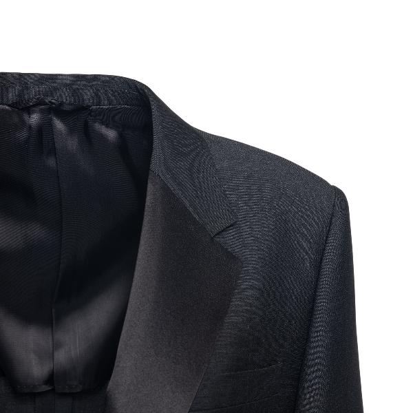 Giacca nera con cintura                                                                                                                                PRADA                                              PRADA