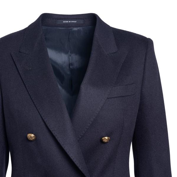 Dark blue double-breasted blazer                                                                                                                       TAGLIATORE