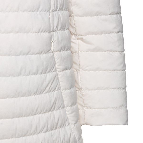 Long white down jacket                                                                                                                                 HERNO