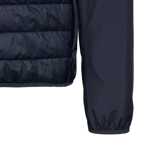 Blue padded jacket with back pocket                                                                                                                    HERNO