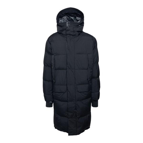 Long black down jacket                                                                                                                                Krakatau QM276 front