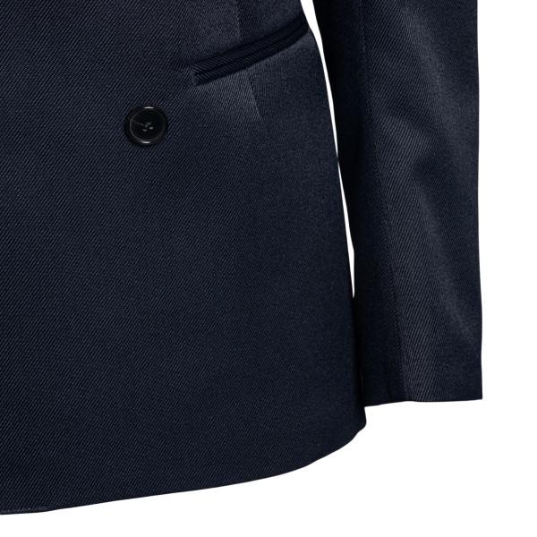 Blazer blu con tasca a contrasto                                                                                                                       MAISON MARGIELA MAISON MARGIELA
