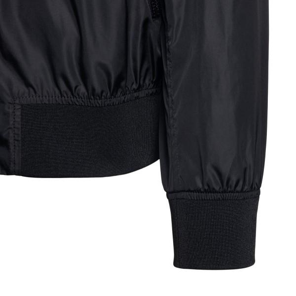 Giacca nera con logo e tasche a zip                                                                                                                    VALENTINO                                          VALENTINO