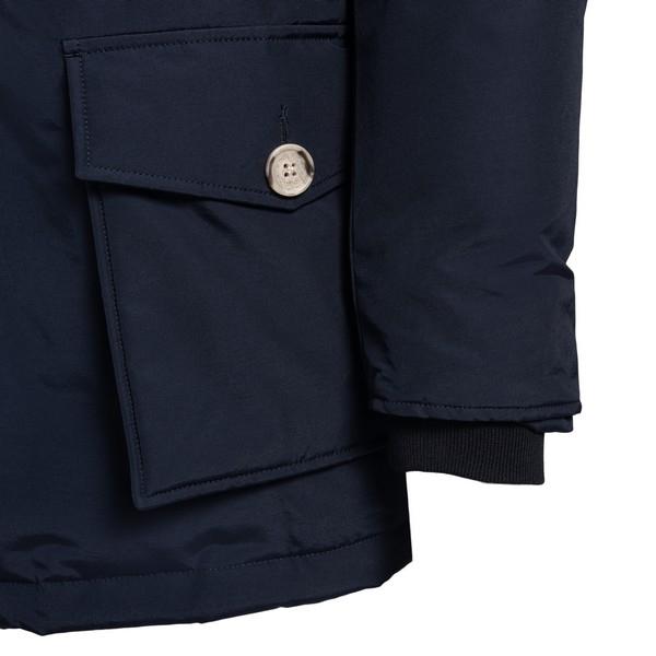 Cappotto blu con bottoni                                                                                                                               WOOLRICH                                           WOOLRICH