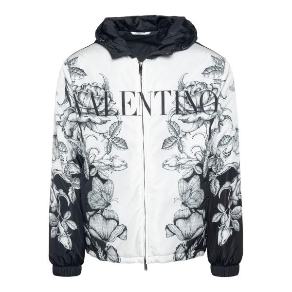 White jacket with graphic print                                                                                                                        VALENTINO