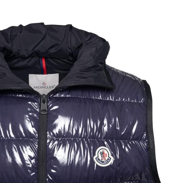 Blue padded vest                                                                                                                                       MONCLER