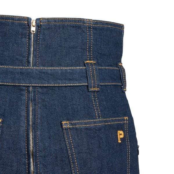 Midi skirt in blue denim                                                                                                                               PHILOSOPHY