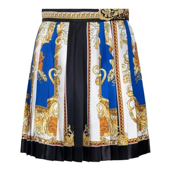 Miniskirt with Barocco motif                                                                                                                          Versace 1000829 back