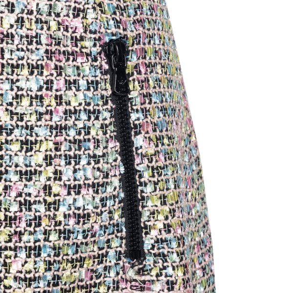 Minigonna in tweed multicolore                                                                                                                         EMPORIO ARMANI                                     EMPORIO ARMANI