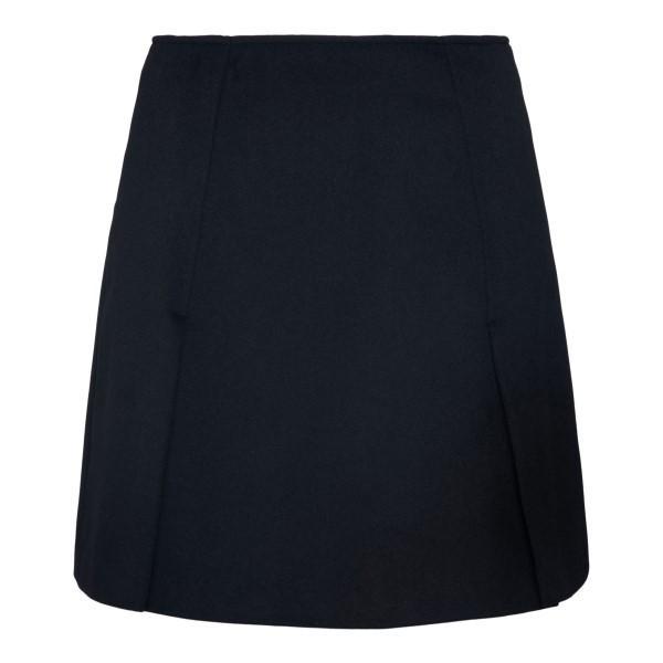 Black mini skirt                                                                                                                                      Emporio Armani BNN09T back