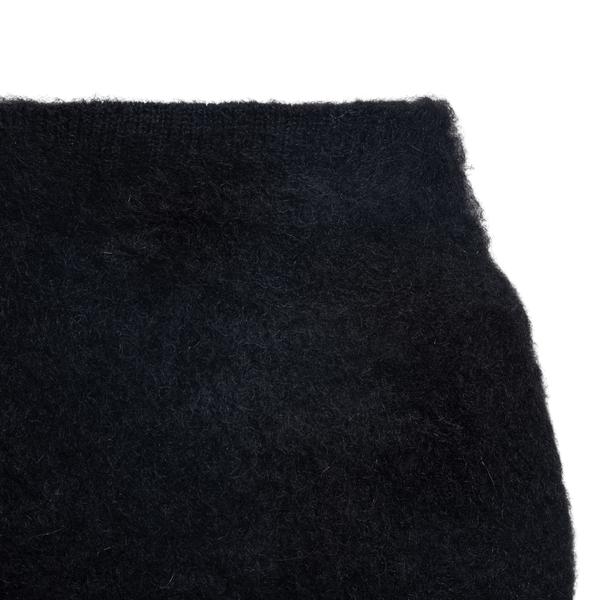 Minigonna nera con strass                                                                                                                              GCDS GCDS
