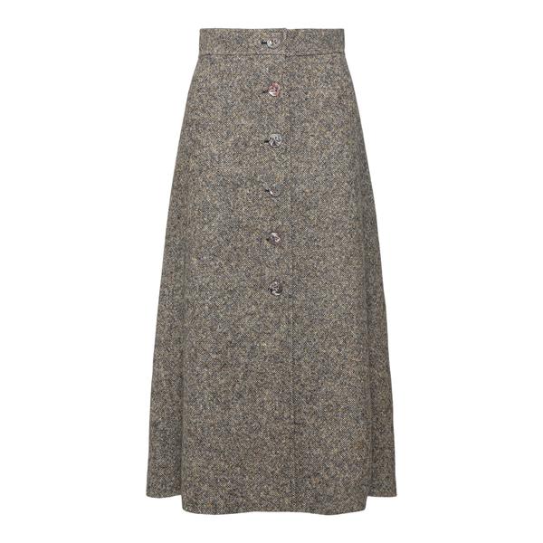 Tweed midi skirt                                                                                                                                       CHLOE'