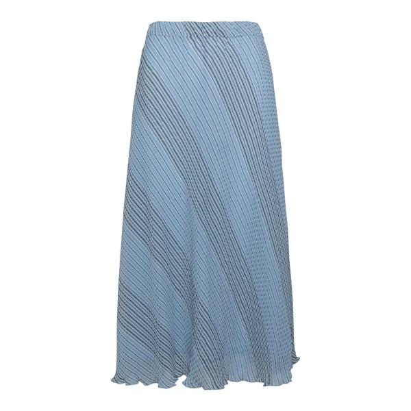 Light blue striped midi skirt                                                                                                                         Ganni F6051 back