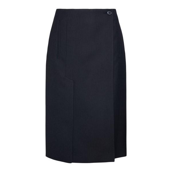 Black pencil skirt                                                                                                                                    Prada P122T back