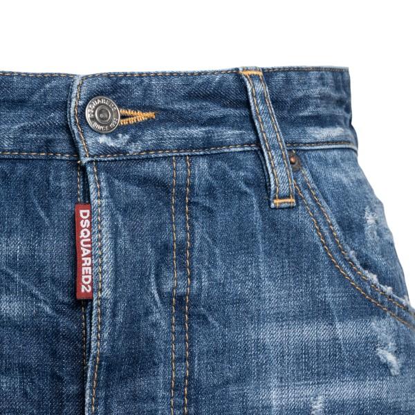 Long blue denim skirt                                                                                                                                  DSQUARED2