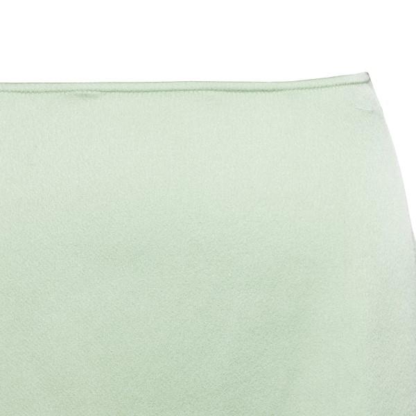 Light green miniskirt                                                                                                                                  ANDAMANE