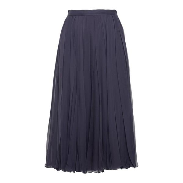 Blue midi skirt                                                                                                                                       Valentino UB0RA6U0 front