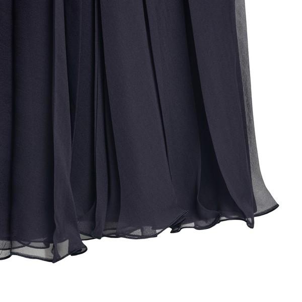 Blue midi skirt                                                                                                                                        VALENTINO