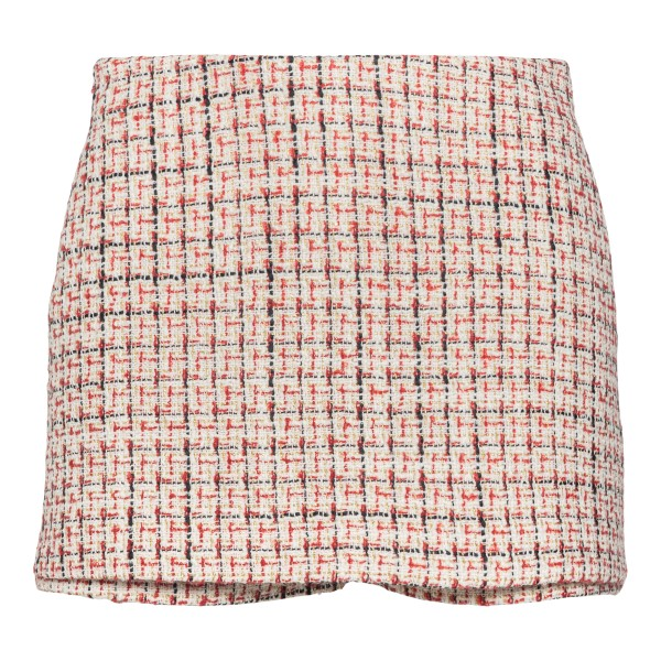 Skirt shorts with red weaves                                                                                                                          Valentino WB3RA7X5 back
