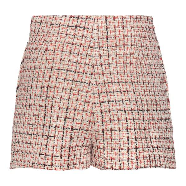 Pantaloncini a gonna con intrecci rossi                                                                                                                VALENTINO                                          VALENTINO