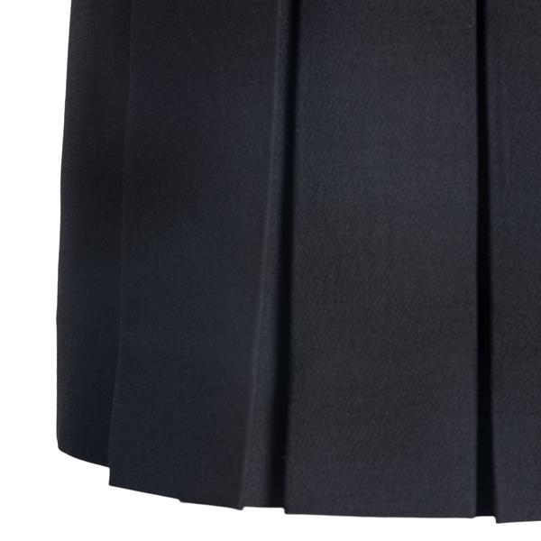 Minigonna nera plissettate                                                                                                                             VALENTINO VALENTINO