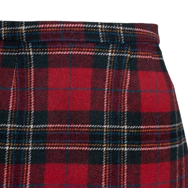 Scottish motif miniskirt                                                                                                                               RED VALENTINO