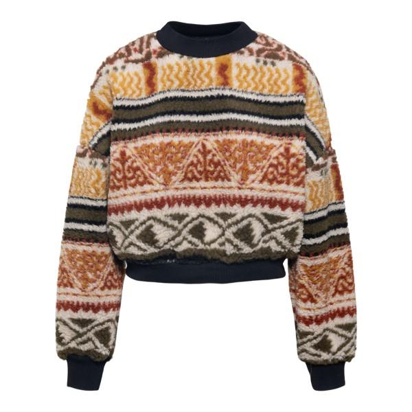 Soft multicolored sweater                                                                                                                             Etro 212D185380615 back