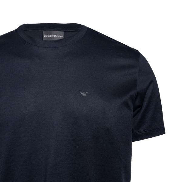 T-shirt blu con logo                                                                                                                                   EMPORIO ARMANI EMPORIO ARMANI