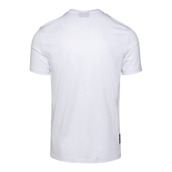T-shirt bianca con logo                                                                                                                                EMPORIO ARMANI                                     EMPORIO ARMANI