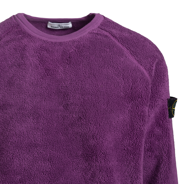 Crewneck fleece sweatshirt                                                                                                                             STONE ISLAND