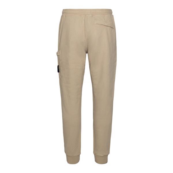 Beige track pants with logo patch                                                                                                                      STONE ISLAND