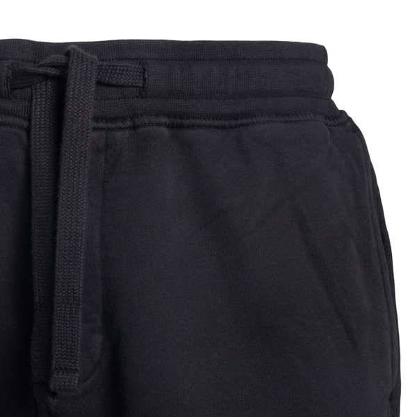 Black track pants with logo                                                                                                                            STONE ISLAND