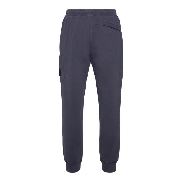 Grey sweatpants with logo                                                                                                                              STONE ISLAND