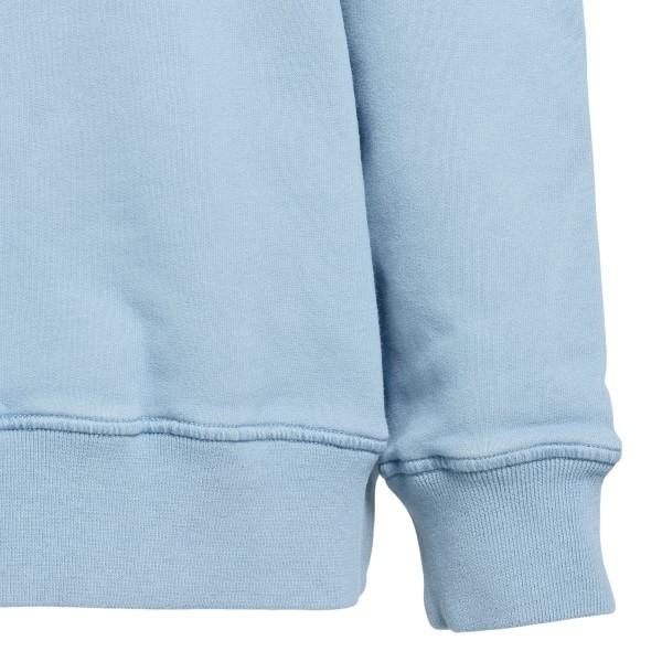 Light blue sweatshirt with side logo                                                                                                                   STONE ISLAND