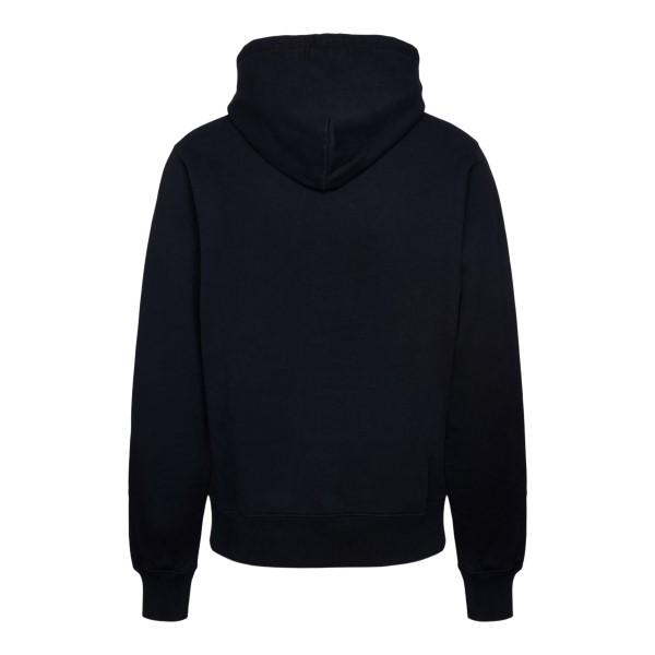 Black sweatshirt with brand name                                                                                                                       AMBUSH