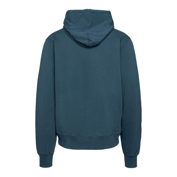 Petroleum sweatshirt with brand name                                                                                                                   AMBUSH