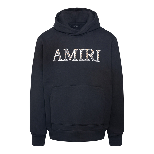 Felpa nera con nome brand                                                                                                                              AMIRI                                              AMIRI